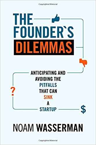 Founders Dilemmas -- avoiding the pitfalls that can sink a startup
