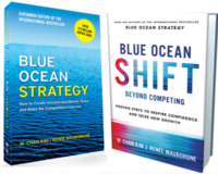 blue ocean strategy books